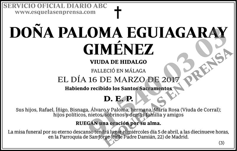 Paloma Eguiagaray Giménez